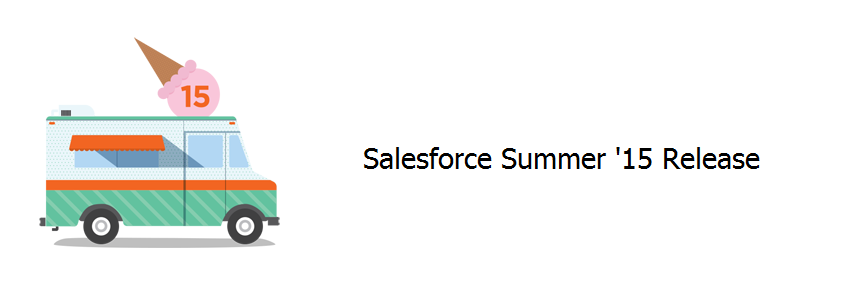 Salesforce Summer'15 Release Blog Banner